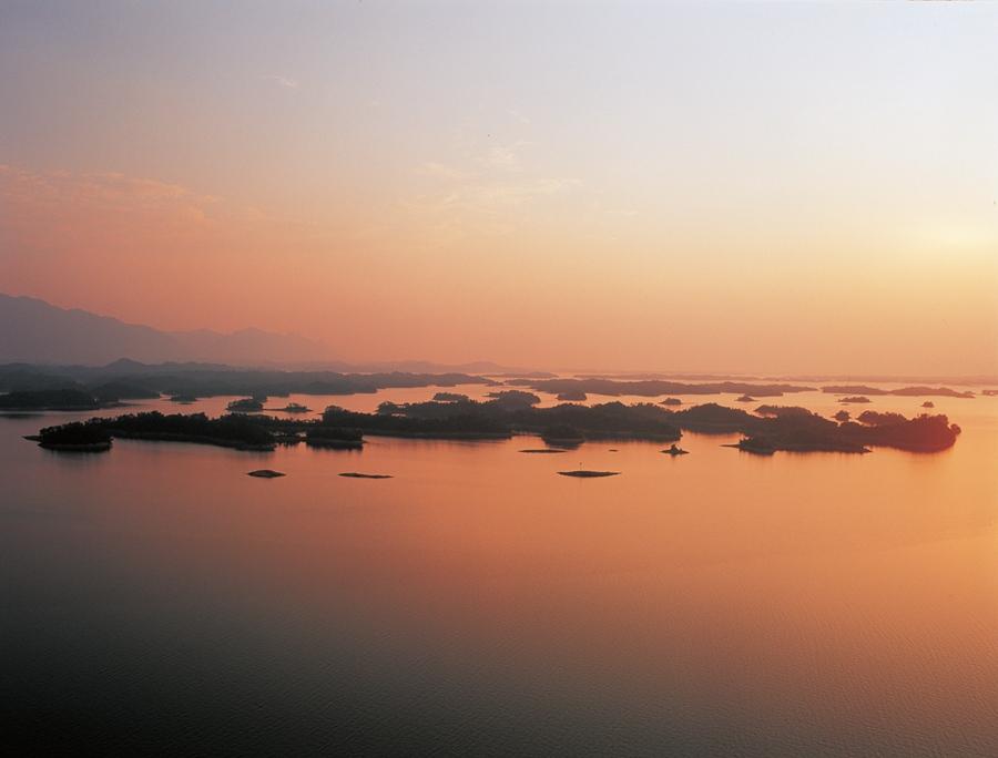 柘林湖风景名胜区logo