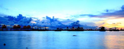 特呈渔岛度假村,原生态海岛游